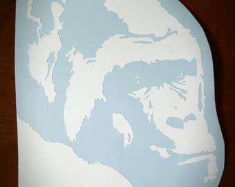 Vinyl Decal - Male Gorilla