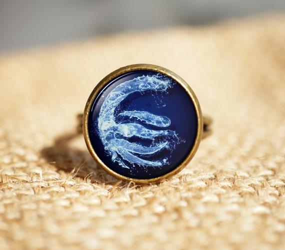 Avatar 2 Oceans: Avatar The Last Airbender JewelryWater RingOcean Surf