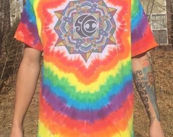 Rainbow SCI Tie Dyed Shirt