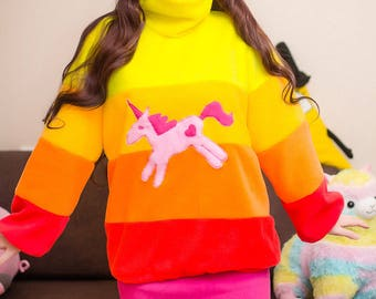 Mabel's Unicorn Sweater