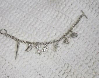 BtVS Inspired Charm Bracelet, Charm Bracelet, Gift for Her, Birthday Gift, Fangirl Gift, Fandom Gift