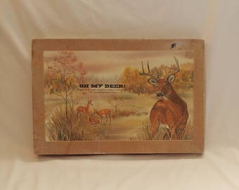 1982 Oh My Deer! Population Conservation Board Game