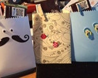 Ready to go Gift Card / Treat Bags (12) All ocassions