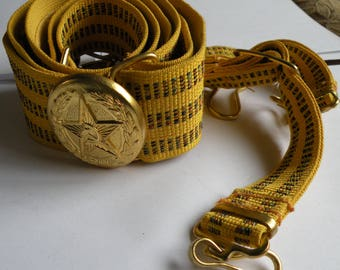 Ceremonial belt of the officer of the Soviet army
