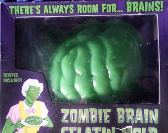 Zombie Brain Jello Mold