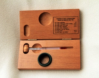 Vintage French Wine Thermometer