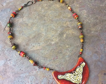 Deep Autumn Necklace