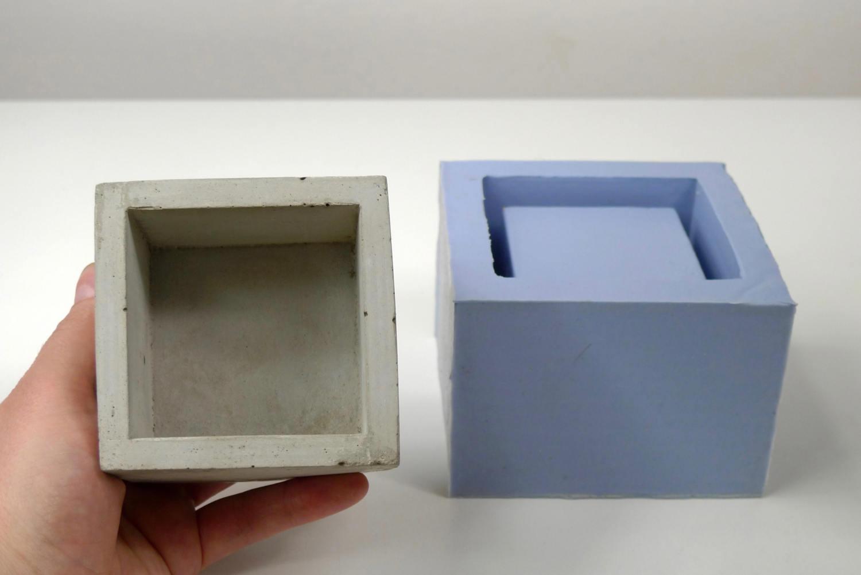 Concrete Planter Mold Geometric Concrete Mould Silicone