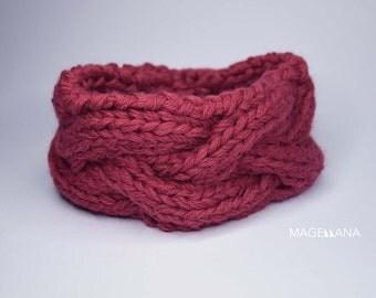 Headband | Heda | Alpaca marsala
