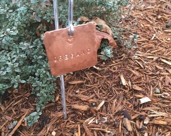 Plant markers copper