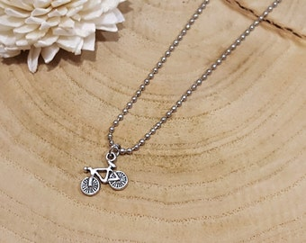 Bicycle Ball Chain Necklace