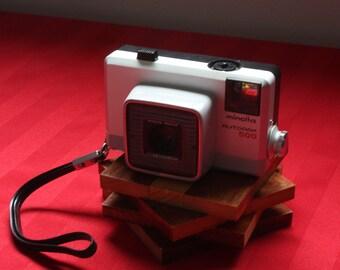 Minolta Rokkor Autopak 500 126 Auto Flash Camera Made in Japan 1960s