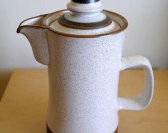 "Gorgeous Denby ""Potter's Wheel"" coffee/tea pot"
