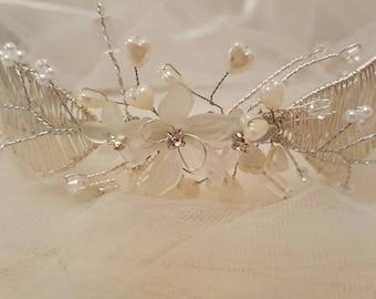 Handmade Flower Tiara
