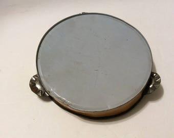 Toy tambourine, child's tambourine, vintage tambourine