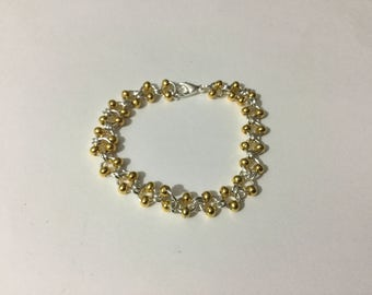 Beaded Chainmaille bracelet