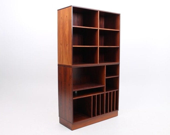 Danish Mid-Century Modern Rosewood Media Center