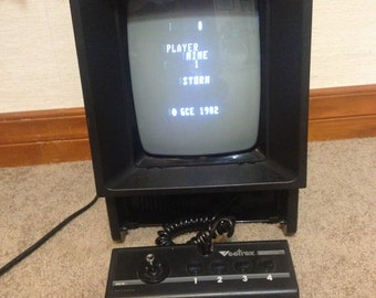 Vintage Vectrex Video Game Console - Tested, Working, with Controller and 3 games