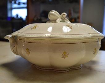 SALE - Gefle Solbritt Vintage soup tureen from Sweden, Gefle upsala ekeby, Scandinavia pottery,