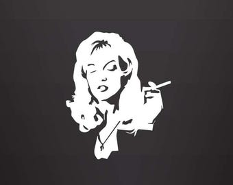 Twin Peaks Laura Palmer Decal