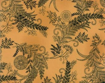 Bee Inspired Honey Yellow Fern 19794 11 Moda Fabrics By Deb Strain 100% Cotton Quilting Fabric