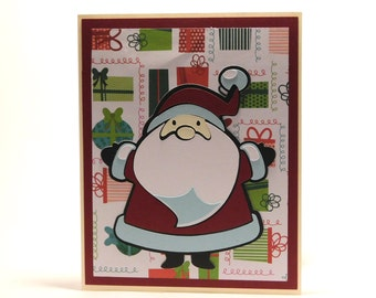 Simple Santa Christmas card- Great for large mailings