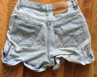 Early 80's Levi's High Waisted Shorts