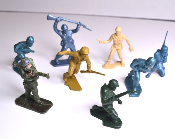 Old Toys From The 1960 : Collectible toy soldiers army men from the s