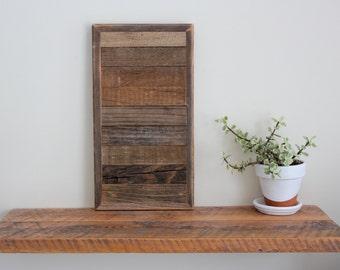 Rustic Wood Wall Art - Maine