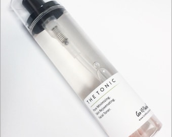 THE TONIC: Pore Refining Facial Tonic. Facial Toner. Pore Minimizer. Skin Reviving. Skin Renewel. Natural Skincare. Beauty Products.