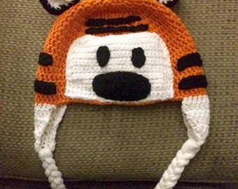Calvin and Hobbes hat