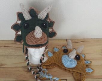 Tricera Tops Dino Hat