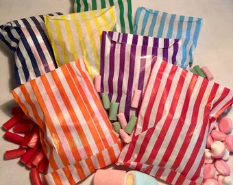 Lucky Dips ideal for weddings, hen do, birthday party in candy stripe bag