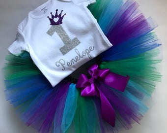 Smash Cake Outfit - Girls Smash Cake Outfit - Girls Cake Smash Set - Smash Cake Shirt - Smash Cake Tutu - Girls First Birthday Outfit