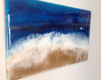 Resin Art Beach, Ocean - Made to Order