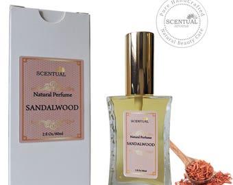 On Sale Sandalwood Perfume Oil, Organic Sandalwood Perfume Oil, Vegan Perfume, Natural Perfume, Gift Idea