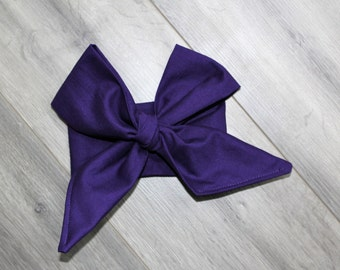 Plum Headwrap