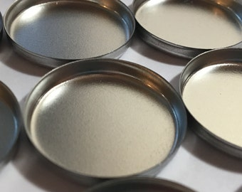 Empty Eyeshadow Pans - 26 mm Eye Shadow Pans - Tin Eye Shadow Pans - Magnetic Eye Shadow Pans