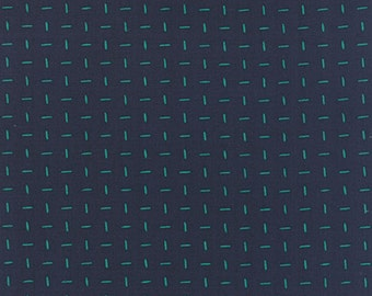 Moda Fabric  - Basic Mixologie - Navy - 33029 21 - Cotton fabric by the yard