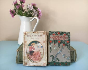 Poems of life and Gems from Shakespears comedies - published approx 1920s