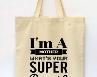 Tote Bag, Beach Tote, Mothers Day Bag, Market Tote Bag, I Can Adult Today Tote Bag, Canvas Tote Bag, Printed Tote Bag, Shopping Bag