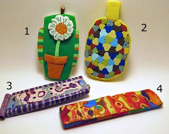 Decorative Designs for Artists and Crafters. Four individual pieces to choose from.