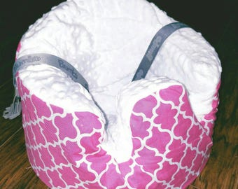 Bumbo Cover with Strap Holes