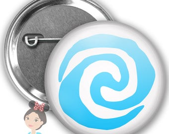 Moana Heart of Te Fiti Inspired Park Button