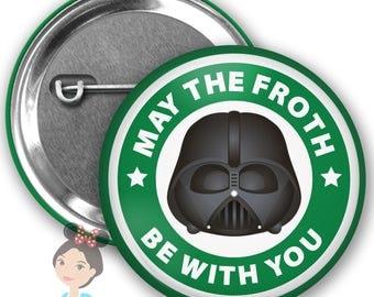 Darth Vader Inspired Park Button
