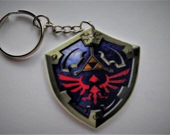 Legend of Zelda Hylian Shield Keychain