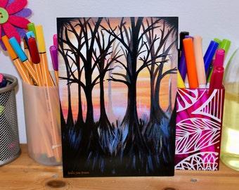 Print: Autumn Woodland