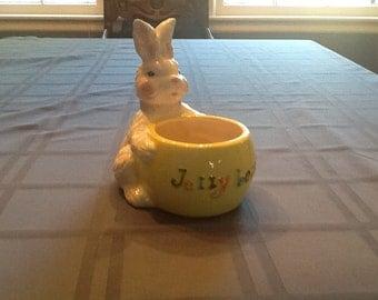 Easter Bunny Jellybean Holder