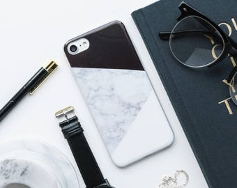 Black And White Marble iPhone Case iPhone X Case iPhone 8 Case iPhone 8 Plus Case iPhone 7 Case, iPhone 7 Plus Case, iPhone 6s Case iPhone 6