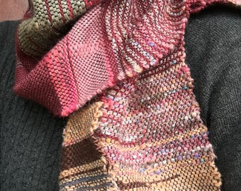Cherry Blossom- Hand Woven Scarf